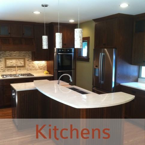 twin cities home remodeling Kitchens