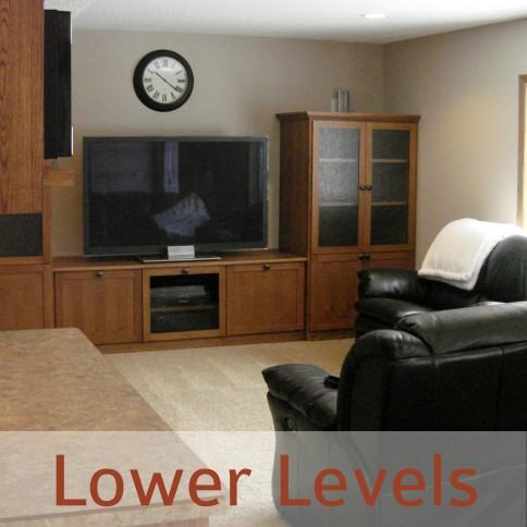 twin cities home remodeling Lower Levels